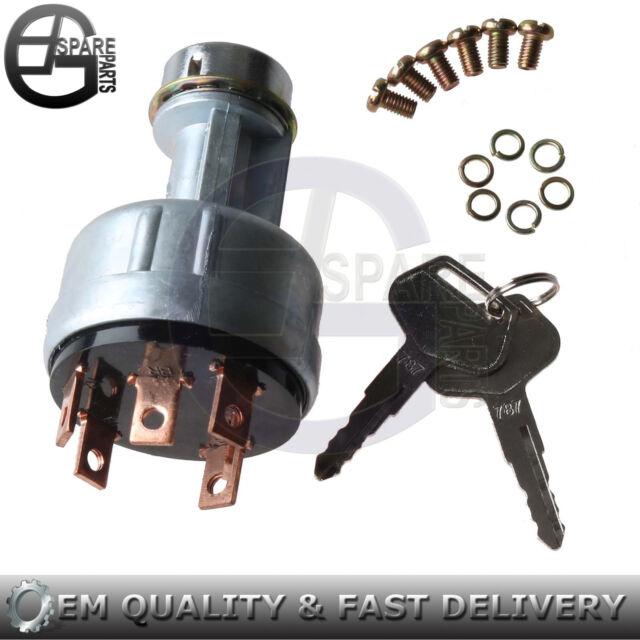 ignition switch w keys for yanmar 1720 ymg1800 1802 1810 1820ignition switch w keys for yanmar 1720, ymg1800, 1802, 1810, 1820