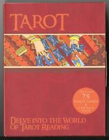 Tarot Box Set With Beginner Instruction Book, Deck Of 78 Large-format Cards
