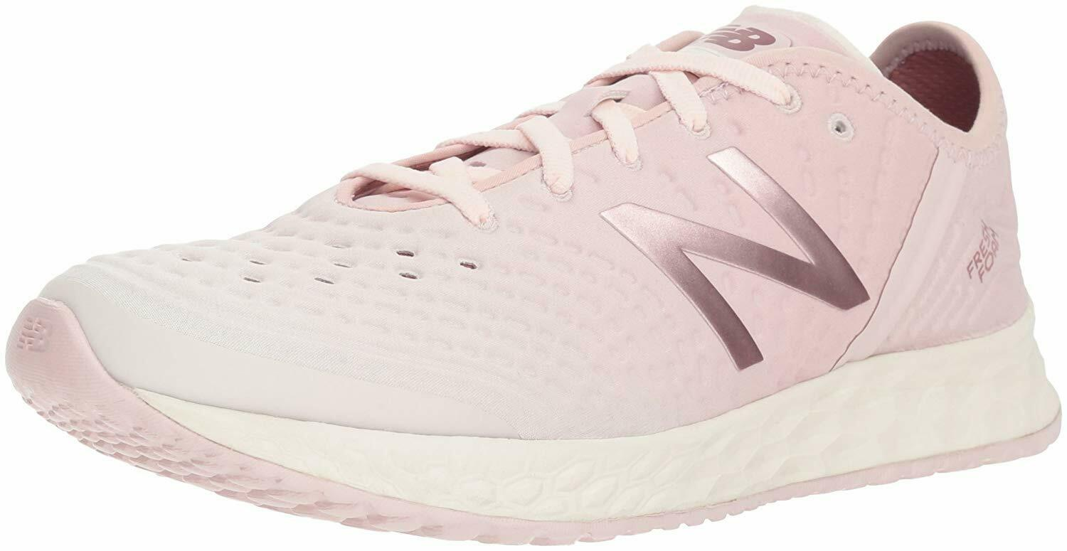 New Balance Femme Fresh Mousse Crush tissu Low Top Lacets, rose clair, Taille 5.5