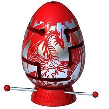 piezas de una serie dif/ícil para los amantes de los rompecabezas un paquete de 2 rompecabezas de laberinto 3D Smart Egg BR Double Dragon Drag/ón azul y drag/ón rojo