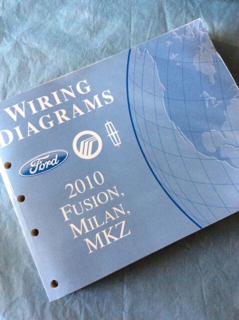 2010 Ford Fusion Mercury Milan Lincoln Mkz Wiring Diagram