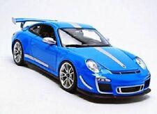 NEUWERTIG: Bburago 15611036BL - 1:18 Plus Porsche GTS RS 4.0 Fahrzeug, hellblau