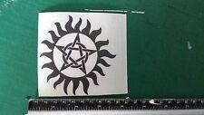 Pentagram Spooky Car/Bike/Window/Wall/Laptop magic Vinyl Decal Sticker Pentacle