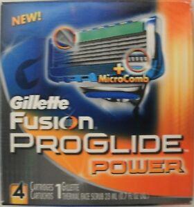 Gillette-Fusion-Proglide-Power-Men-039-s-Razor-Blade-Refills-4-Count-5-Blade-Shaving