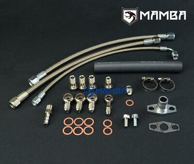 Turbo Oil Return Hose Kit For Nissan RB20DET RB25DET Stock Ball Bearing turbo