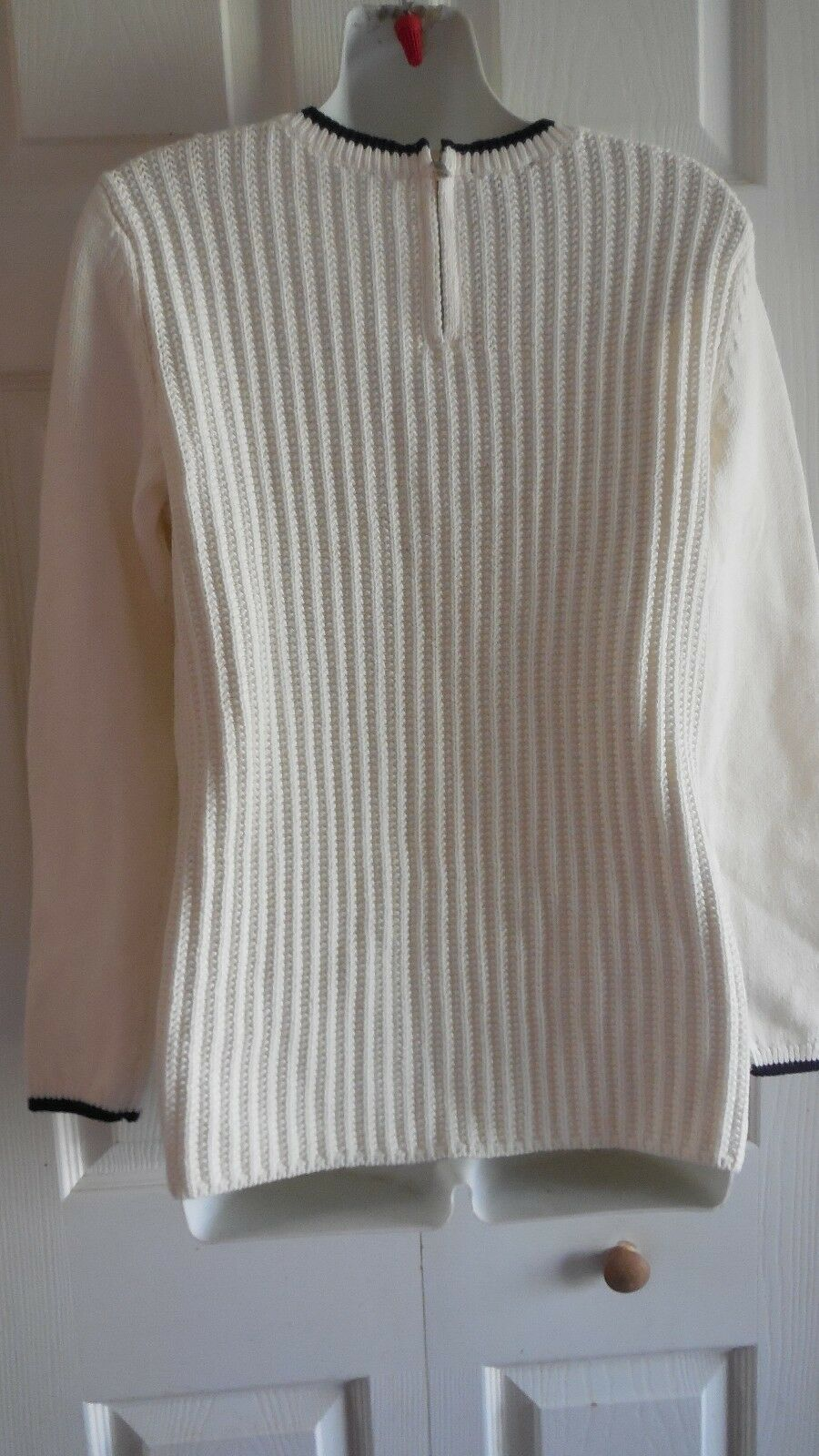 NWT  89.50 89.50 89.50 TALBOTS  100% COTTON KNIT  SWEATER  PM 74c46a