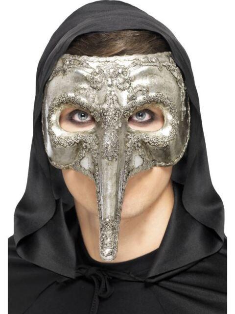 Luxury Venetian Capitano Mask, Halloween Carnival of the Damned Fancy Dress  #AU