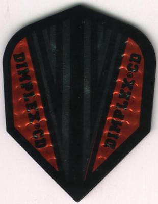 Dimplex Red CD Dart Flights: 3 per set
