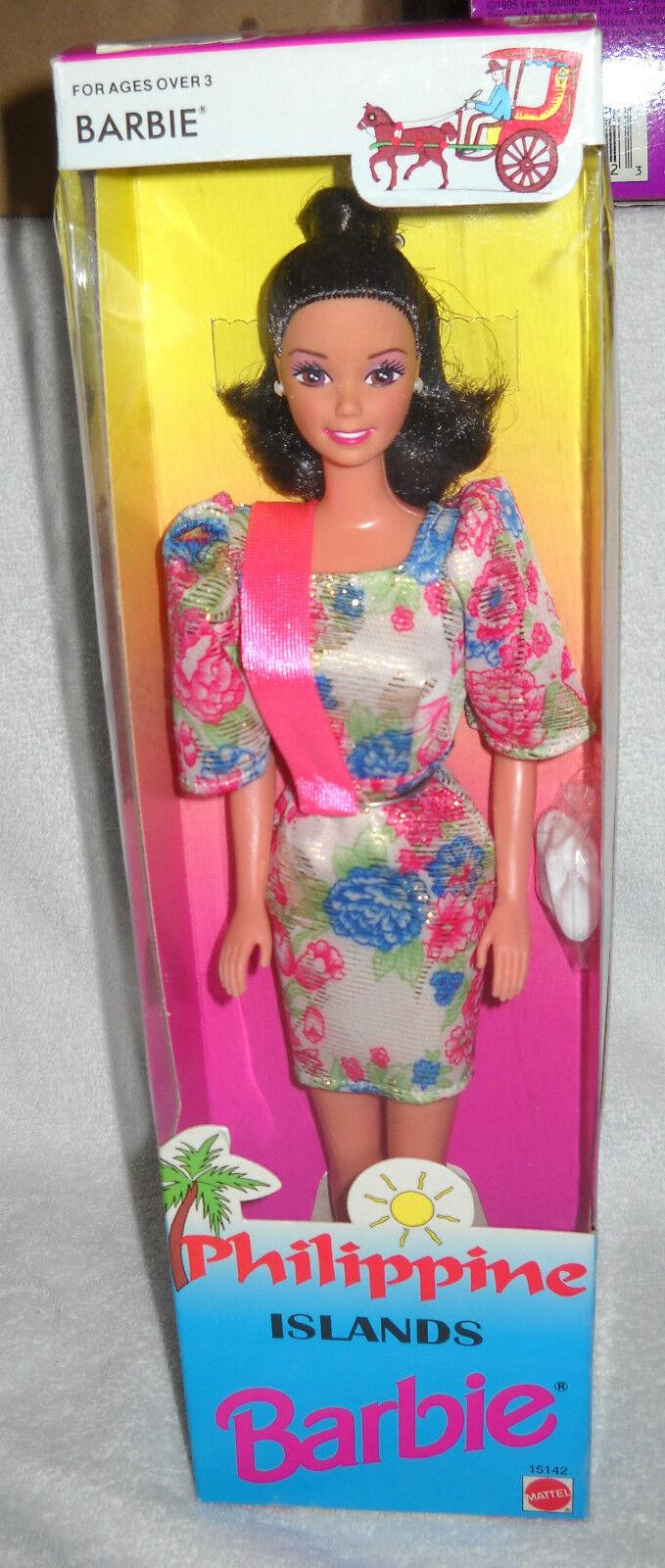 En Caja Original Mattel Barbie de las islas Filipinas problema de Exteriores de la serie 2nd