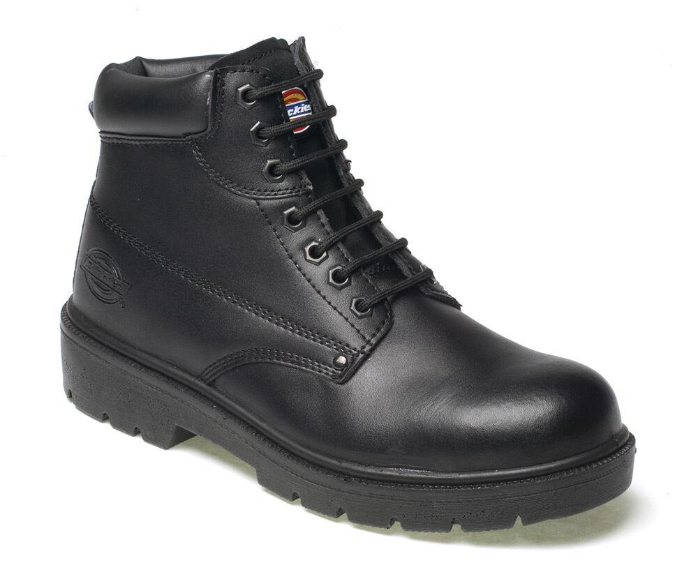 Dickies Antrim pour homme sécurité travail bottes taille uk 4 - 13 steel toe cap noir FA23333