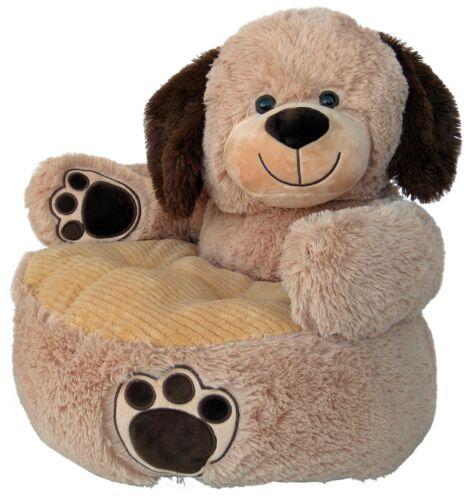 KINDERSESSEL KINDERSOFA HUND Kindermöbel Sessel Tier Plüsch-Sessel Kinder