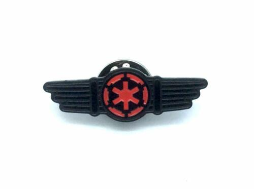 Tie Fighter Pilot Wings Cosplay Metal Pin Badge