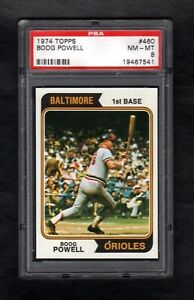 1974-TOPPS-460-BOOG-POWELL-ORIOLES-PSA-8-NM-MT-CENTERED