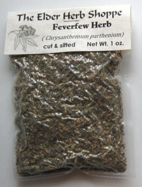 Feverfew Herb Cut & Sifted 1 oz. - The Elder Herb Shoppe