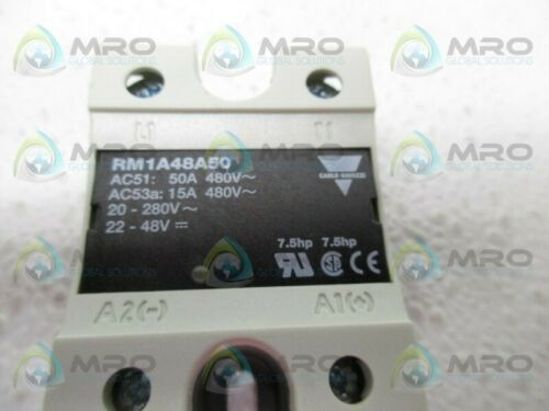 NEW IN BOX * CARLO GAVAZZI RM1A48A50 SOLID STATE RELAY