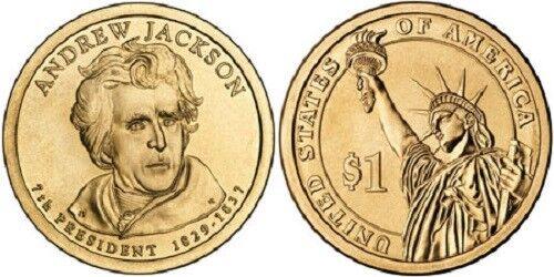 "2008 P Andrew Jackson Presidential Dollar /""Brilliant Uncirculated/"""