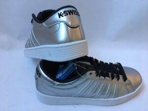 K-Swiss-Hoke-Metallic-CMF-S-Sneaker-Turnschuh-silber-Damen-Schuh-Gr-39-5