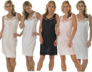 LADIES SLIPS PETTICOATS CHEMISE 10 TO 24