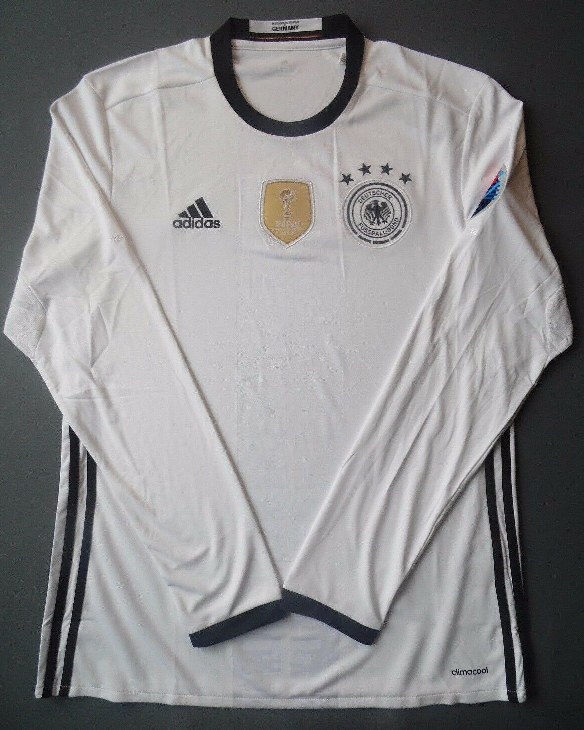 Germany Jersey 2016 Home XL Shirt Long Sleeve Mens Football adidas ...