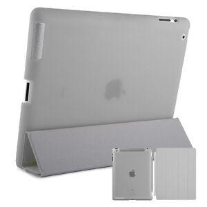 Smart-Schutz-Huelle-iPad-2-3-4-Case-Cover-Aufstellbar-Staender-Schale-Etui-Grau
