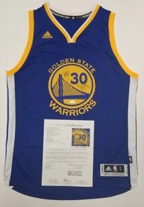 the latest 6cb9d 419e8 Details about STEPHEN CURRY & KLAY THOMPSON Signed GS WARRIORS, 3x NBA  CHAMPS Adidas L. JSA