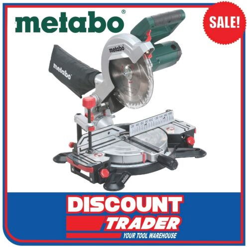 Metabo 216mm Crosscut Compound Mitre Saw KS 216 M Lasercut 619216190