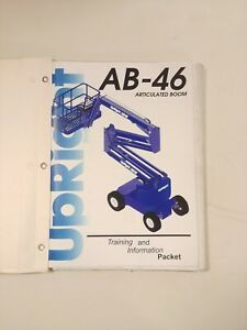 UP-RIGHT-AB-46-Service-amp-Parts-Manual