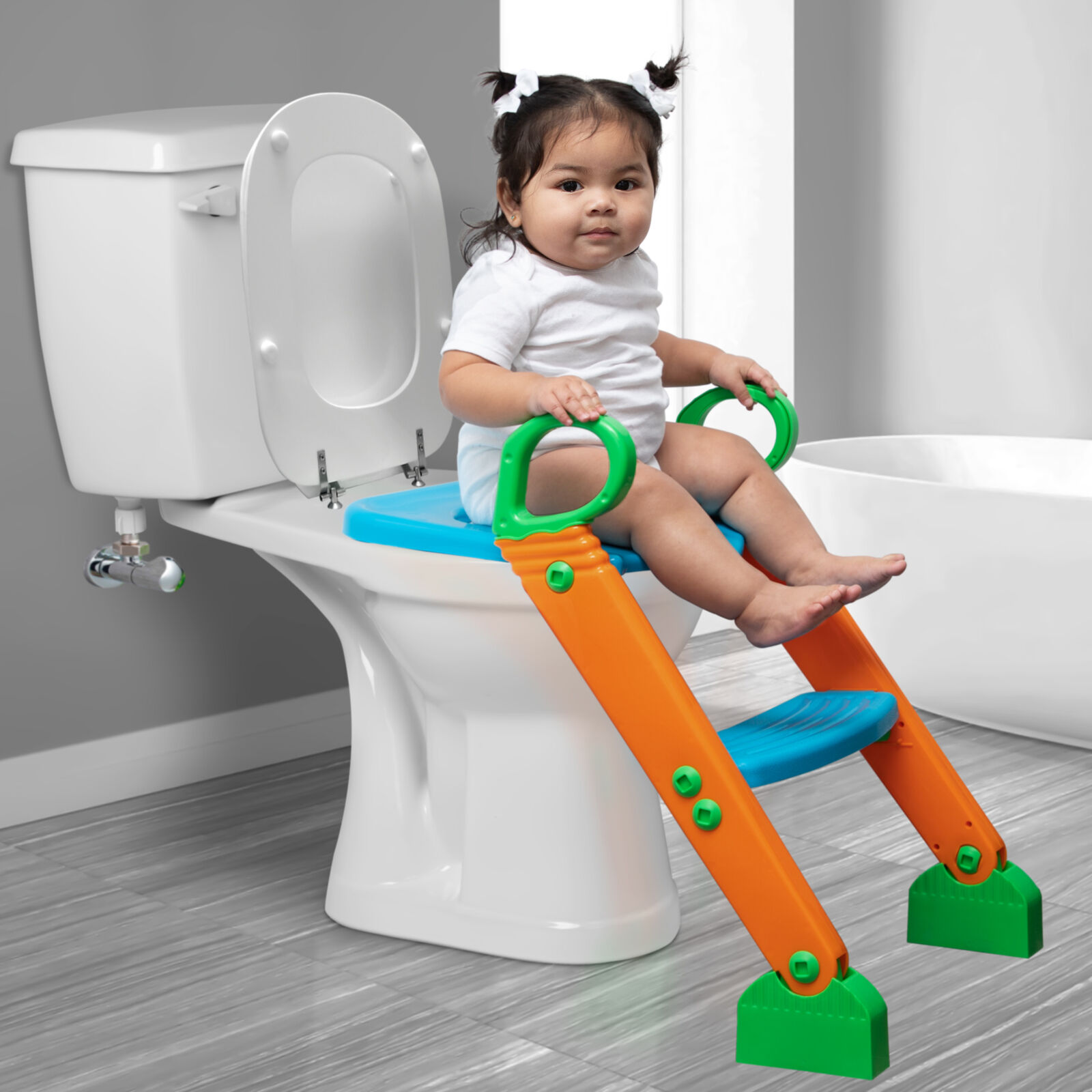 Image 21 - Kids-Potty-Training-Seat-with-Step-Stool-Ladder-for-Child-Toddler-Toilet-Chair