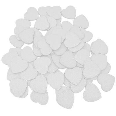 Bianco 18 Mm Love Cuori In Legno Shabbychic Craft Scrapbook Vintage Cuore Colorato- Per Farti Sentire A Tuo Agio Ed Energico