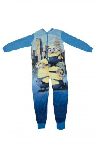 Official Despicable Me Minions Nightwear Sleepsuit Jumpsuit PJ Brand New Gift