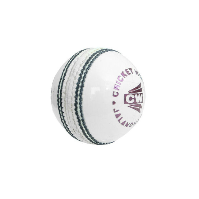 Details about  /Crown White Cricket Ball 4 Cut Piece Men Hand Stitch Ball Pack Of 6 Free Shiping