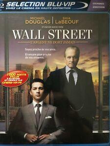 BLU-RAY-Wall-Street-2-L-039-Argent-ne-dort-Jamais-NEUF