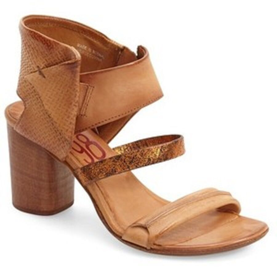A.S.98 'Sutton City' Strappy Sandal, 3 1/4