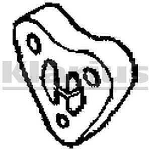 Klarius Rubber Exhaust Mounting Mount 420529 5 YEAR WARRANTY BRAND NEW