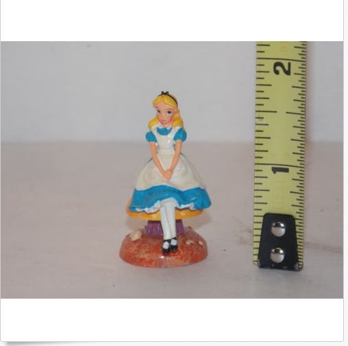 Alice In Wonderland Fairy Garden Dollhouse Miniature Alice Through Looking Glass