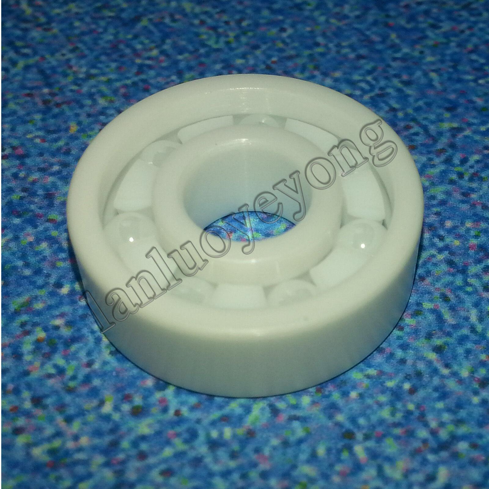 2pcs 6202 Full Ceramic Bearing ZrO2 Ball Bearing Zirconia Oxide15x35x11mm new