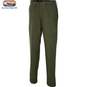 Jack Pyke Hommes Moleskine Pantalon Vert Pays De Chasse Tir Pêche