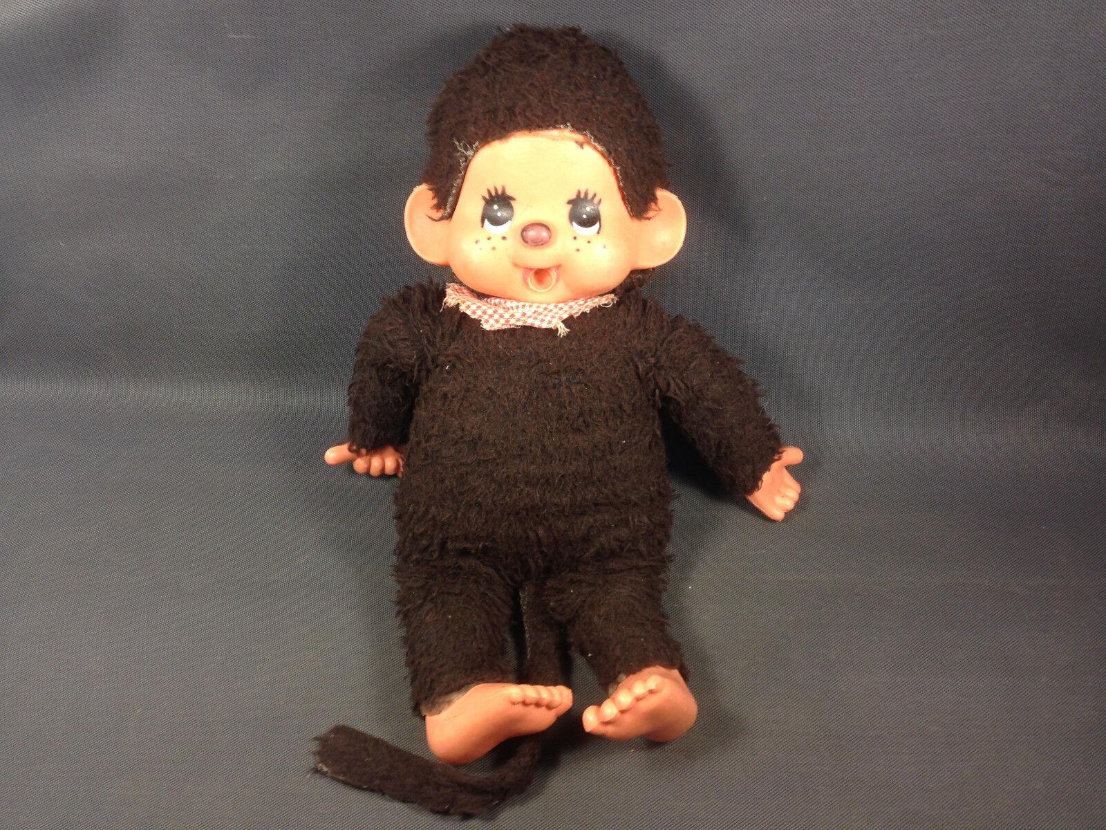 Antiguo grande KIKI peluche doudou vintage años 1980 juguete Antiguo