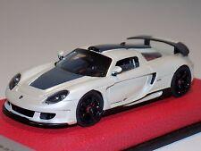 1/43 Tecnomodel Porsche Carrera GT Coupe in Fuji White Leather Base #25/25