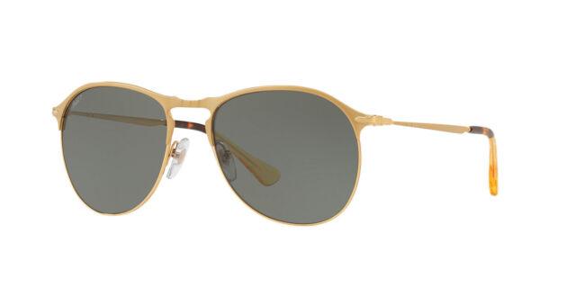 414de729d4d Persol Sunglasses PO7649S 106958 53MM Polarized Matte Gold Green   Gray 53mm
