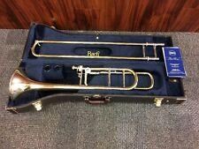 Bach Stradivarius Trigger Trombone Gold Brass Bell 42BOG Brand New