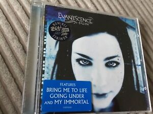 Details about EVANESCENCE - FALLEN - CD ALBUM - BRING ME TO LIFE / MY  IMMORTAL +