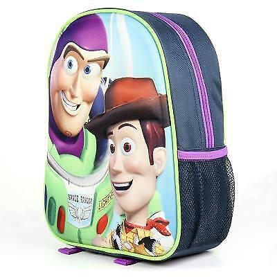 BUZZ Lightyear e WOODY ZAINO  Zainetto Scuola Asilo 3D DISNEY TOY STORY
