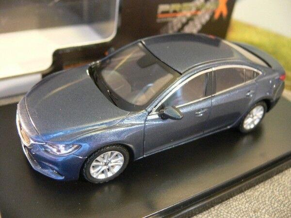 1 43 Ixo Premium X Mazda 6 2013 dunkelblue PRD404