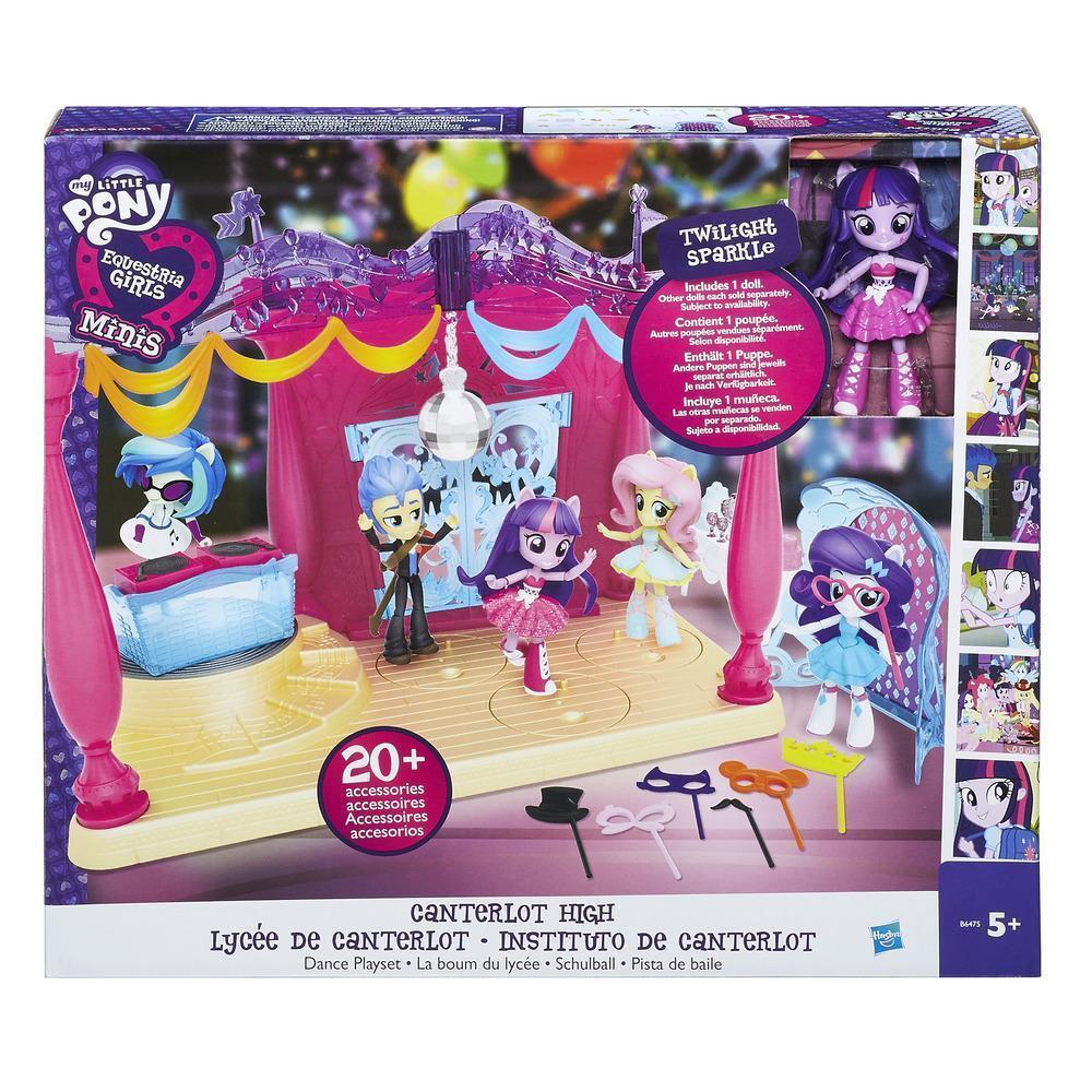 Canterlot High Dance Playset inc Twilight Sparkle Doll My Little Pony Minis 5yr+