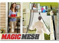 ZANZARIERA MAGIC MESH TENDA MAGNETICA ANTI ZANZARE MOSCHE CASA PORTE BALCONE