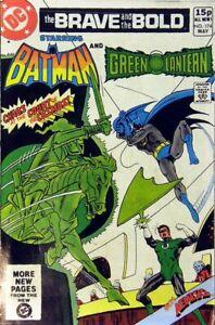 Brave-amp-The-Bold-Vol-1-174-como-Nuevo-NM-Precio-Variant-Dc-Comics-Bronce
