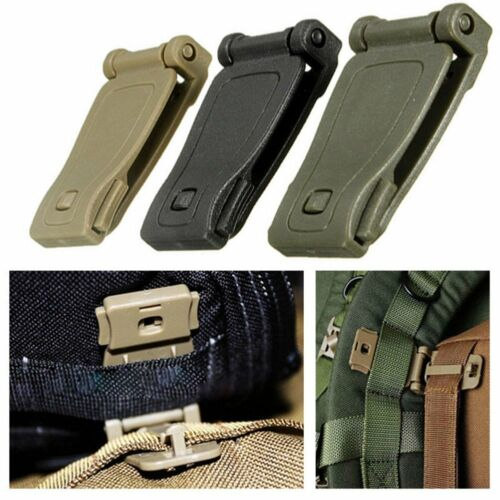 4 Molle Strap Backpack Bag Webbing Connecting Buckle Clip Accessorie