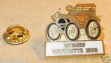 PIN'S CEF PARIS AUTOMOBILE VOITURE RENAULT VOITURETTE 1898 MARRON MADE FRANCE b