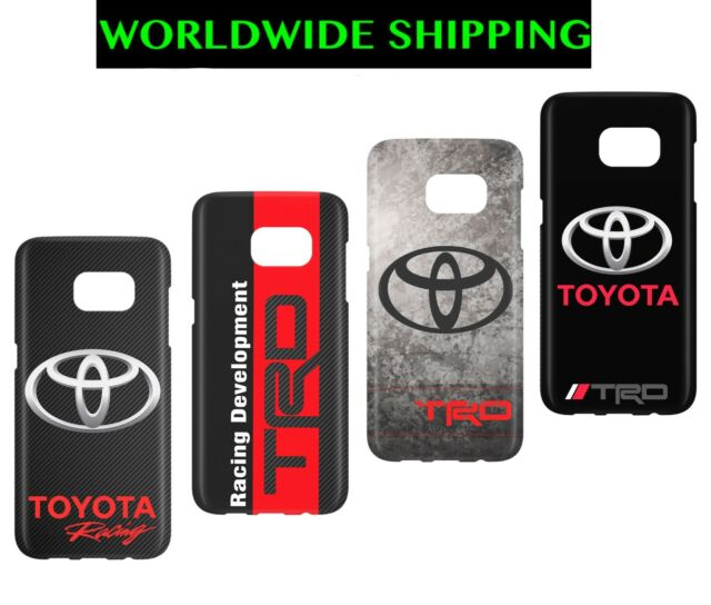 TOYOTA Carbon TRD Racing Design Cover Trend Case Samsung Galaxy A S J S9+ S10+e